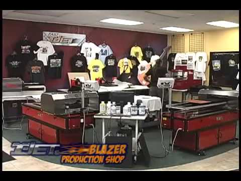 High Production with DTG - From the Archives of the T-Jet