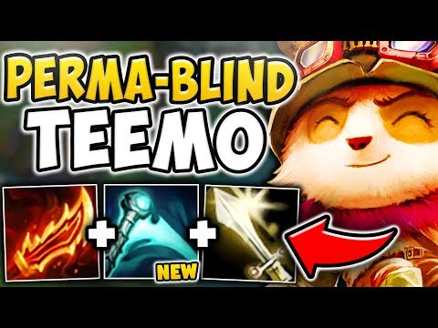 WTF RIOT! ESSENCE REAVER GIVES TEEMO A PERMANENT BLIND! THIS NEEDS TO BE NERFED! League of Legends