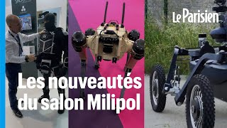 Drones terrestres, tenue antiémeute allégée... 3 innovations pour améliorer la sécurité