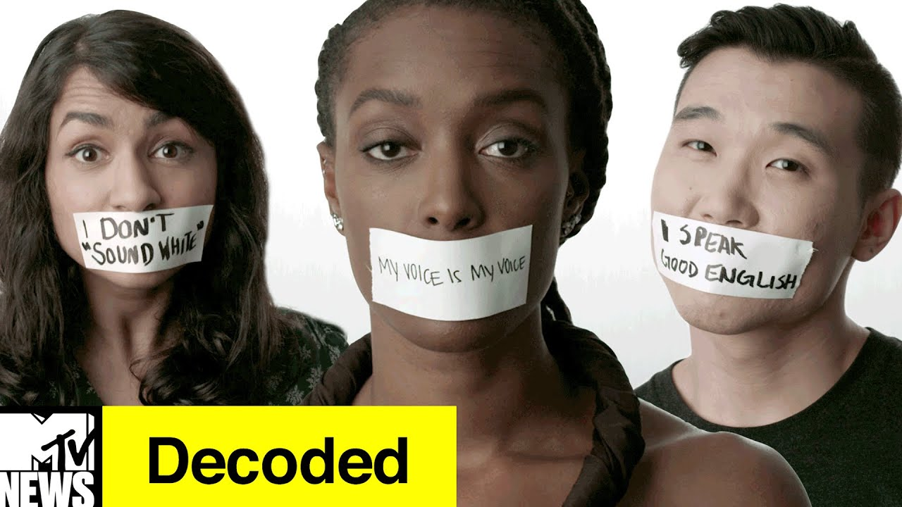 You CAN'T Sound White! | Decoded | MTV News