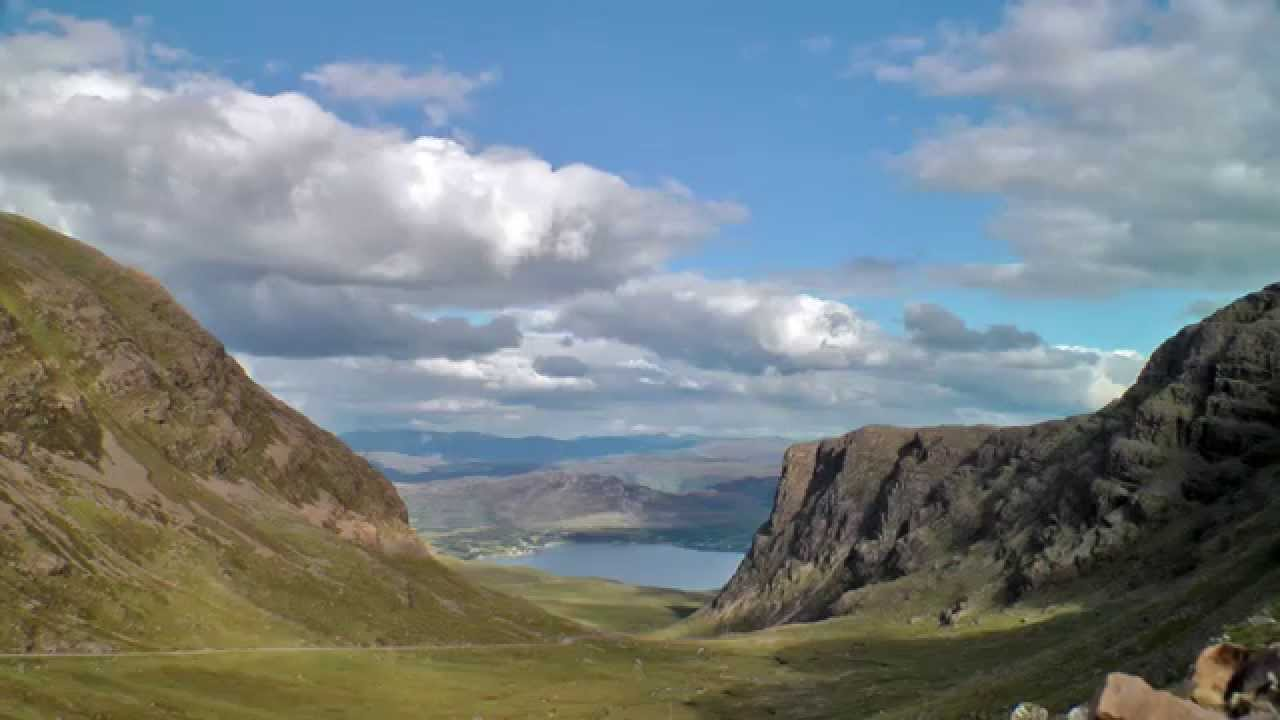 Mountain Pass Quot Bealach Na Ba Quot Applecross Scotland Youtube
