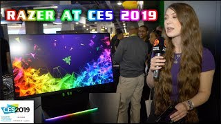 RAZER at CES 2019 - BRIONY sees NEW Laptops, RGB, Gaming Monitor - Case and MORE!