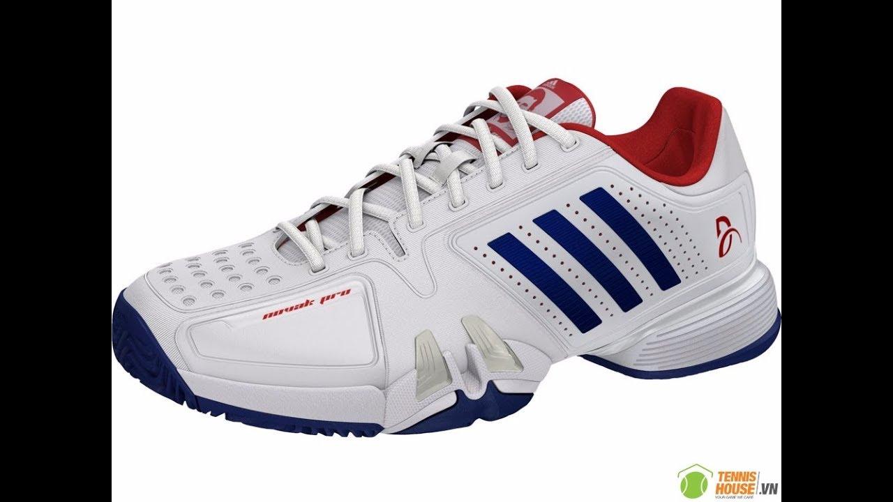 Unboxing Review Turnschuhe Adidas Tennis Novak Pro BA8013 YouTube