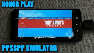 Honor Play - Tony Hawk's Project 8 - PPSSPP v1.8.0 - Test