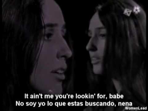 It Ain't Me, Babe - Joan Baez Traducida