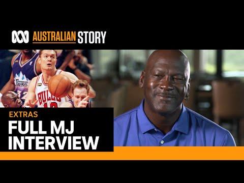 Michael Jordan talks Luc Longley, Chicago Bulls, The Last Dance   Full interview   Australian Story