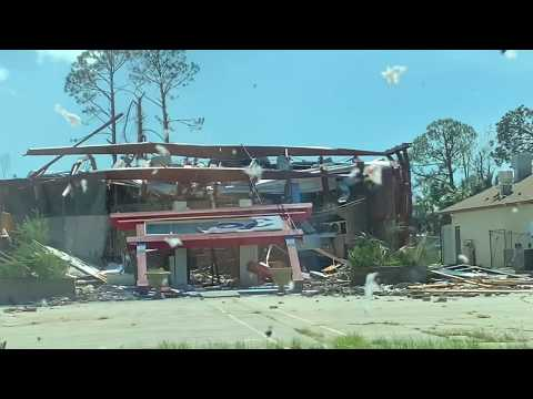 Hurricane Michael From Start to Finish | Panama City | 23rd Street