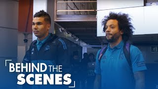 Real Madrid vs PSG: 3-1 | Behind the scenes