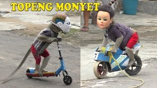 TOPENG MONYET The best Monkey street attraction