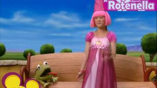 Repeat youtube video LazyTown- Story Time (Castillian-Spanish)