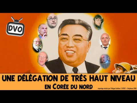 """Reportage: «Een parlementaire delegatie van """"zeer hoog niveau"""" in Noord-Korea» *****– 2000"""
