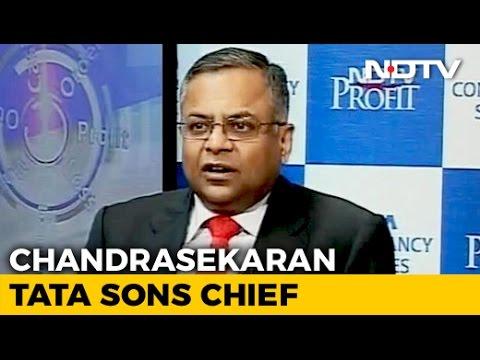 TCS Chief Natarajan Chandrasekaran Is New Tata Sons Chairman