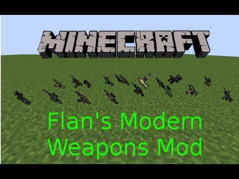 1 5 2] Flan's Modern Weapons Pack Mod Download   Minecraft Forum
