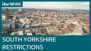 South Yorkshire to move to Tier 3 Covid restrictions from Saturday | ITV News