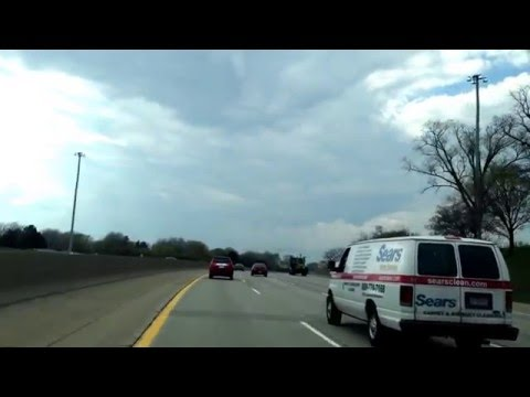 Driving from Eastpointe, Michigan to Beverly Hills, Michigan