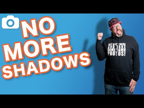 How To Prevent Shadows On Backdrops
