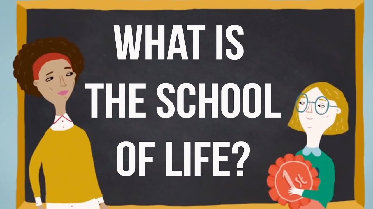 What is The School of Life  YouTube