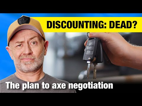 Is this the end for negotiating a discount on a new car?   Auto Expert John Cadogan