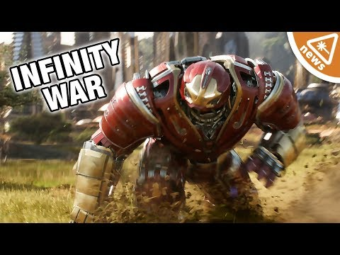Did the New Hulkbuster Lego Spoil Avengers Infinity War? (Nerdist News w/ Jessica Chobot)