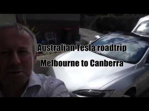 Tesla Roadtrip - epic trip with two friends from Melbourne to Canberra and back