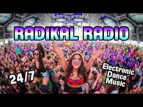 EDM 24/7 Live Stream • Radikal Radio • Dance House Pop Remixes