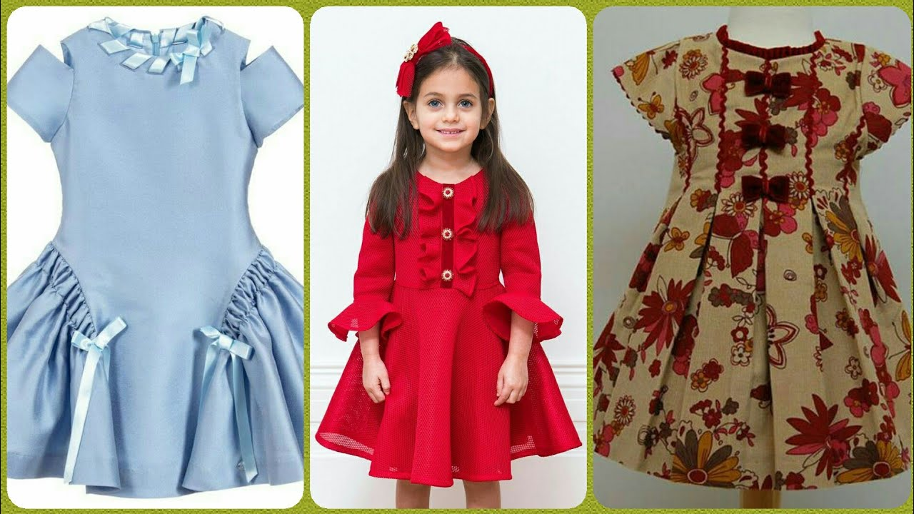kids cotton frocks design's for baby girlskids cotton