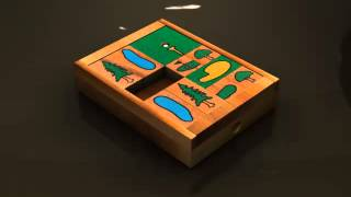 Wooden Sliding Puzzles: On the Greens from SiamMandalay®