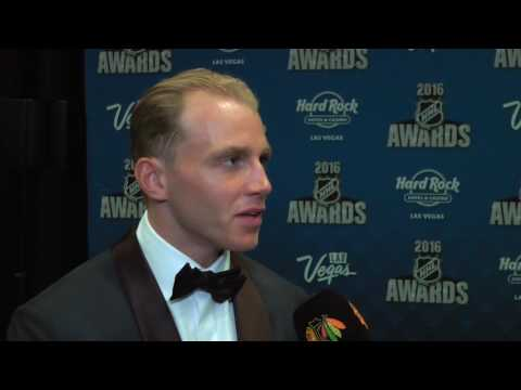 Patrick Kane talks to BHTV after winning Hart Trophy