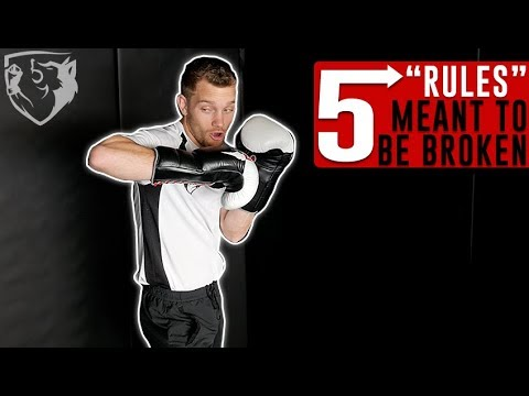"""5 Boxing """"Rules"""" Meant To Be BROKEN!"""
