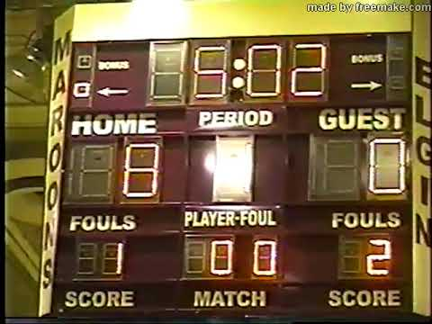 Elgin High Basketball: STREAMWOOD AT ELGIN December 17 2004