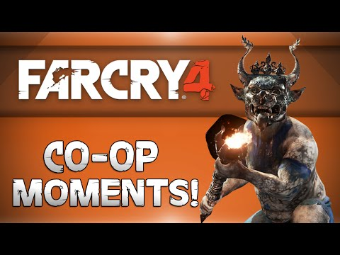 Far Cry 4 CoOp w DaithiDeNogla!  Flying Elephants, Rolling Glitch, Dumbo the 4th Funny Moments