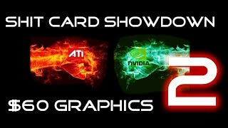 shit card showdown sub 60 graphics