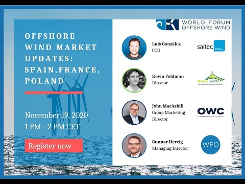 Offshore Wind Market Updates: Spain, France, and Poland