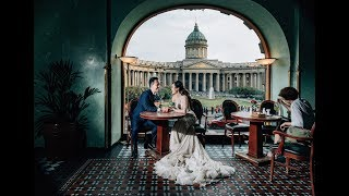 Prewedding photography in St Petersburg, Russia