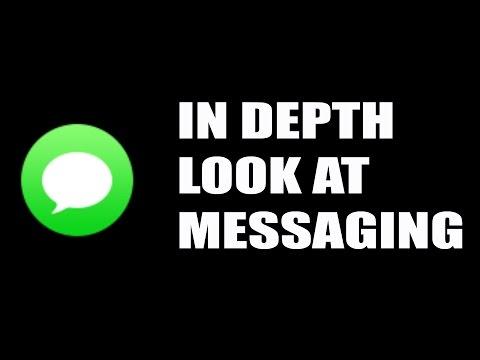 In Depth Look At Messaging App On Apple Watch!
