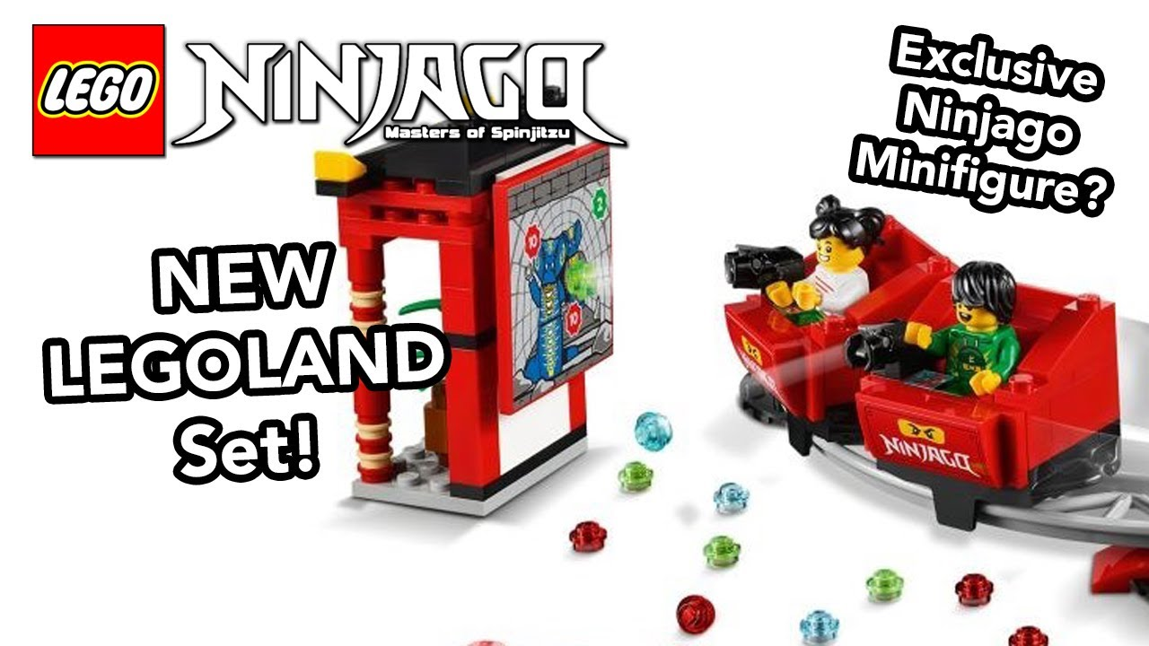 NEW LEGOLAND Ninjago World Set 40429 - LEGOLAND Exclusive ...