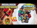 EPIC BATTLE ! GOLD TURBO Imperial Dragon VS ALL Beyblade Burst GT DARK TURBO