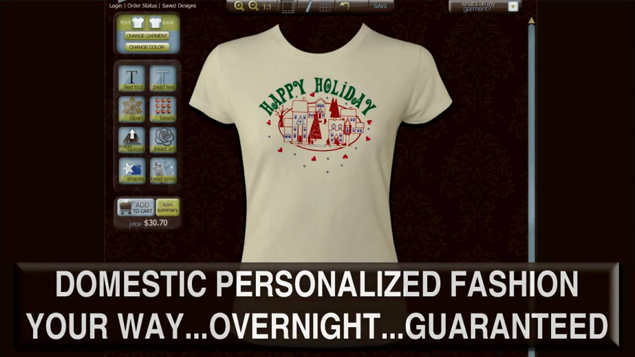 Custom T Shirt Design By Customtcouture Youtube