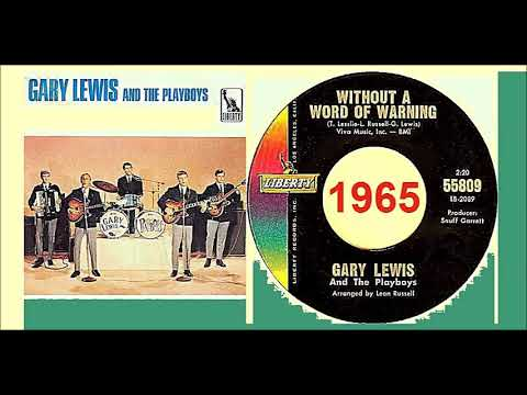 Gary Lewis & The Playboys - Without A Word Of Warning 'Vinyl'