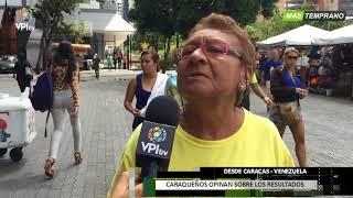 Venezuela. Reacciones de los venezolanos luego de las elecciones regionales -VPItv