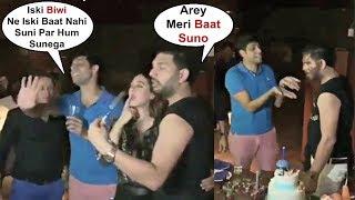 Ashish Nehra Making Fun Of Yuvraj Singh At His Retirement Party