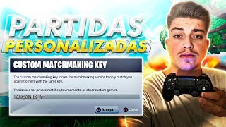 |JUGANDO *PARTIDAS PRIVADAS* CON SUSCRIPTORES! (PREMIO)| Fortnite:Battle Royale