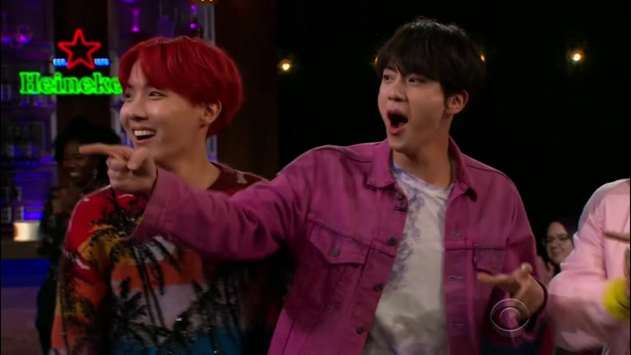 BTS-當防彈遇上水果炸彈(爆笑)