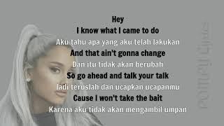 (Sub Indo) Ariana Grande - Focus Lyrics