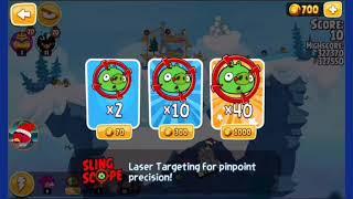 Angry Birds Seasons - 🎄Especial de Natal🎄🎄Parte 1🎄
