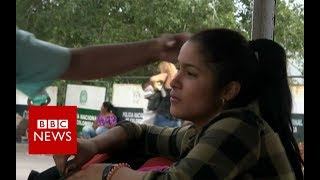 Venezuela crisis: Desperate women selling their hair - BBC News