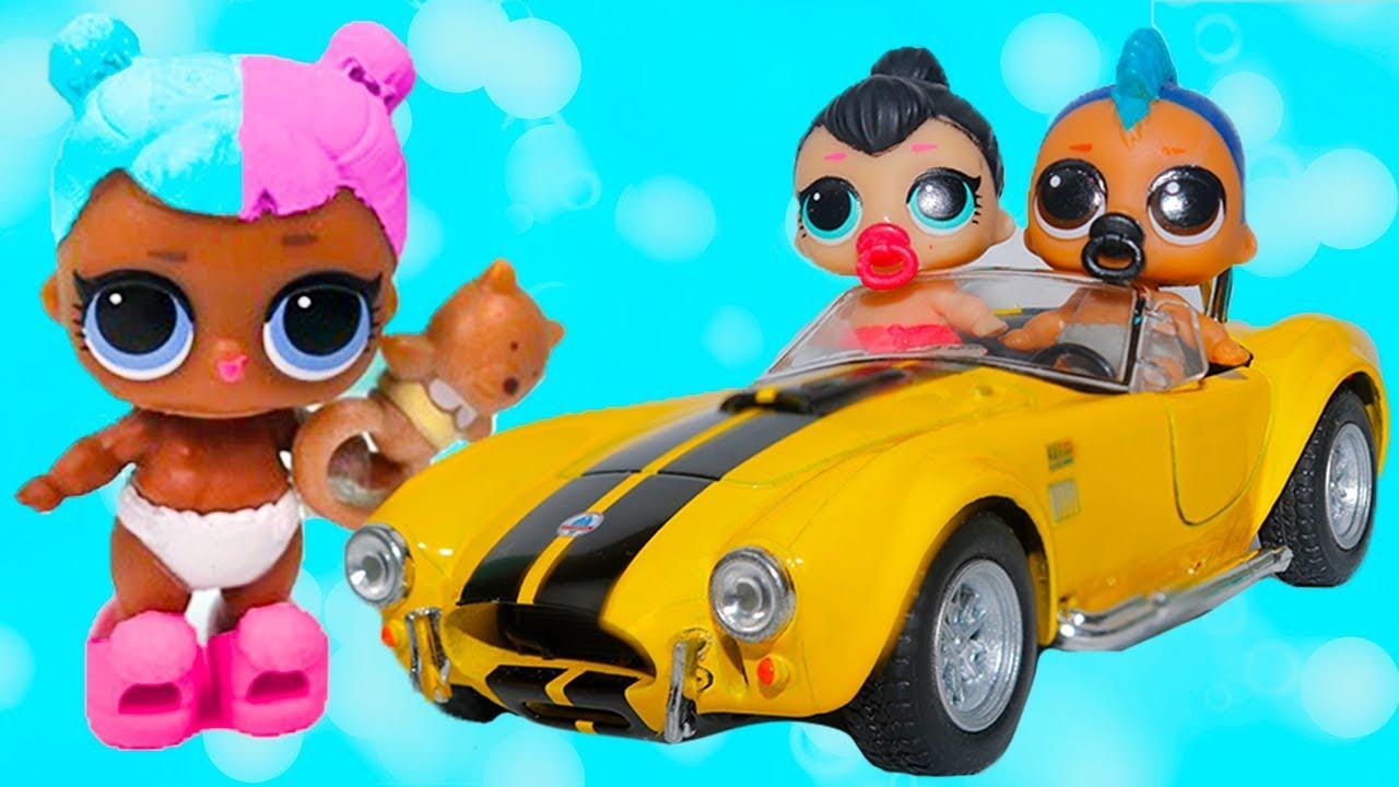 Куклы лол 3 серия 2 волна маленькие сестрички ВОЗВРАЩЕНИЕ ...