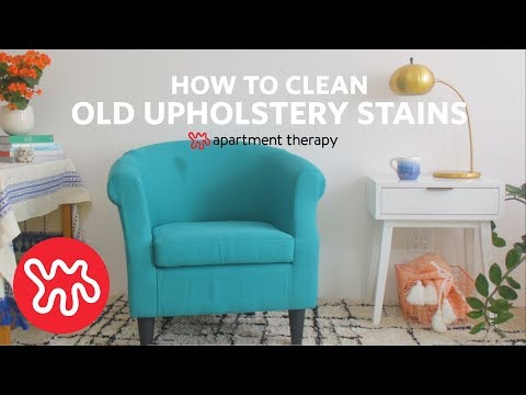 How To Clean Set In Upholstery Stains | Apartment Therapy