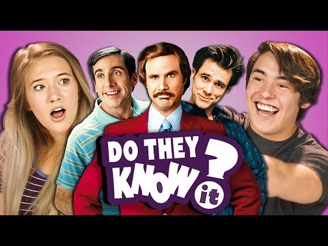 DO TEENS KNOW 2000s COMEDY MOVIES? (REACT: Do They Know It?)