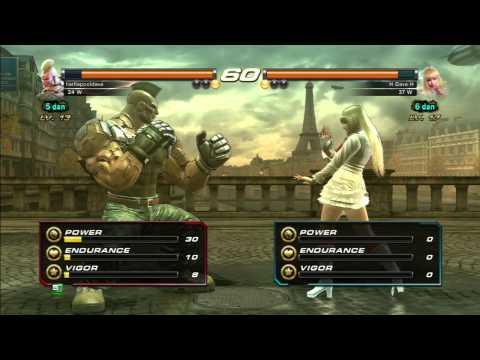 Dave plays Tekken Revolution: Part 5 - Dem Legs, Learning Lili